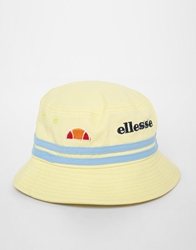 Ellesse Bucket Hat In Canvas Yellow