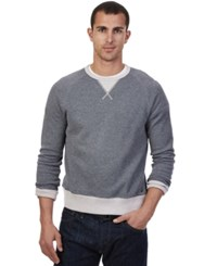 Nautica French Rib Long Sleeve Crew Neck Sweatshirt