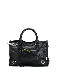 Balenciaga Classic Nano City Bag Black