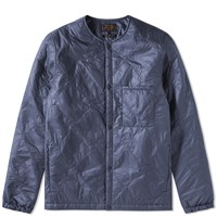 Beams Plus Cwu 9P Down Liner Jacket Blue