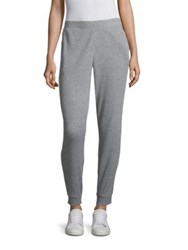 Skin Ilya High Waisted Jogger Pants Heather Grey