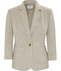 Cc Natural Linen Jacket