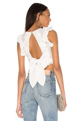 Keepsake Only Surrender Top In Ivory White