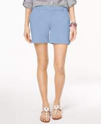 Tommy Hilfiger Hollywood Chino Shorts Created For Macy's Crystal Blue