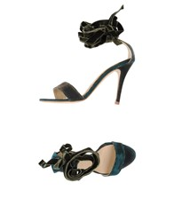 Luca Valentini Sandals Military Green