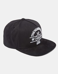 The Hundreds Streak Snapback Black