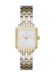 Kate Spade Washington Square Watch Two Tone Gold