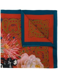 Mr And Mrs Italy Printed Scarf Multicolour