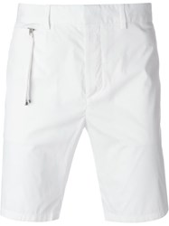 Diesel Black Gold Bermuda Shorts White