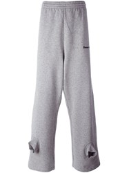 Gosha Rubchinskiy Double Cuff Sweapants Grey