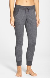 The North Face Women's Cotton Blend Sweatpants Charcoal Grey Heather
