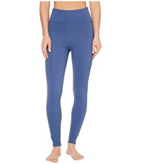 Threads For Thought Betty High Waisted Leggings Indigo Women's Clothing Blue