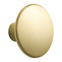 Muuto The Dots Metal Coat Hook Large Brass