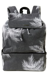 O'neill Chillin Print Canvas Backpack Black
