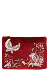 Glamorous Clutch Red Dark Red