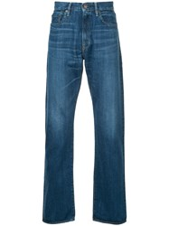 Hysteric Glamour Straight Leg Jeans Cotton Blue