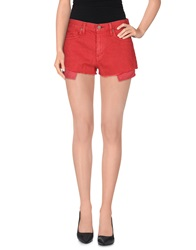 Denim And Supply Ralph Lauren Denim Shorts Brick Red