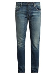 Mastercraft Union Slim Leg Jeans Light Blue
