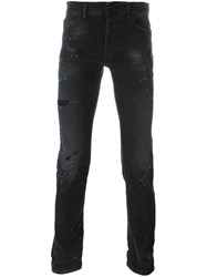 Marcelo Burlon County Of Milan Slim Fit Jeans Black