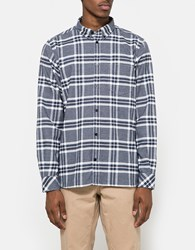 Norse Projects Hans Check Flannel Navy