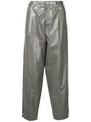 Kolor Tailored Slouched Trousers Grey