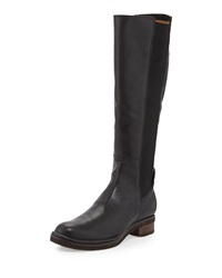 Alberto Fermani Belluno Leather Flat Knee Boot
