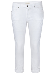 White Stuff Southern Ocean Cropped Jeans Natural