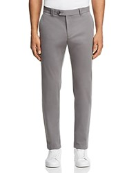 Bloomingdale's The Men's Store At Tailored Fit Chinos 100 Exclusive Gray