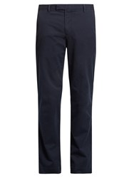 Polo Ralph Lauren Slim Fit Brushed Cotton Chino Trousers Navy