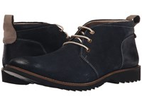 Lotus Kingswood Navy Suede Men's Lace Up Boots Blue