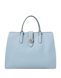 Lauren Ralph Lauren Charleston Satchel Blue Mist
