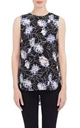 Thakoon Addition Washed Silk Tank Colorless Size 10 Us