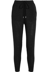 Markus Lupfer Metallic Wool Track Pants