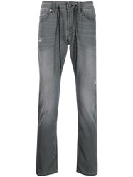7 For All Mankind Straight Leg Jeans Grey