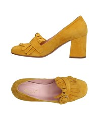 Anna F. Loafers Yellow