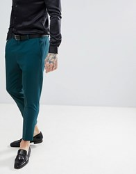 Noose And Monkey Tapered Cropped Pants Green
