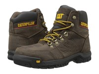 Caterpillar Outline St Seal Brown Men's Work Lace Up Boots