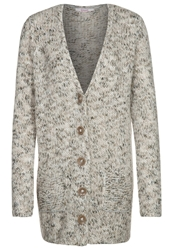 Bloom Cardigan Beige Ecru Mix Off White
