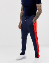 Wesc Diego Track Trousers Navy