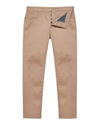 Ted Baker Men's Colz Straight Fit Coloured Jeans Taupe