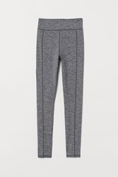 Handm H M Leggings High Waist Gray