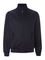 Merc Casual Full Zip Harrington Jacket Navy