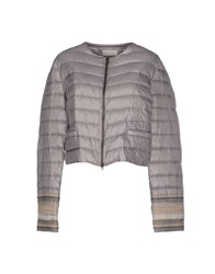 Alysi Coats And Jackets Down Jackets Women Grey