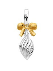 Links Of London Silver And Gold Vermeil Drop Bauble Charm N A N A