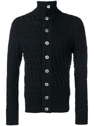 S.N.S. Herning Stark Button Cardigan Blue