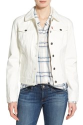 Levi's Twill Classic Trucker Jacket White