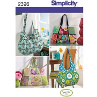 Simplicity Bags Sewing Leaflet 2396