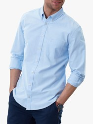 Joules Laundered Oxford Classic Fit Shirt Soft Blue