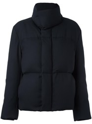 Paul Smith 'Travel' Down Bomber Jacket Blue