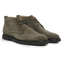 Tod's Suede Desert Boots Army Green